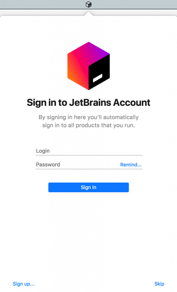JetBrains Toolbox App | 株式会社サムライズム