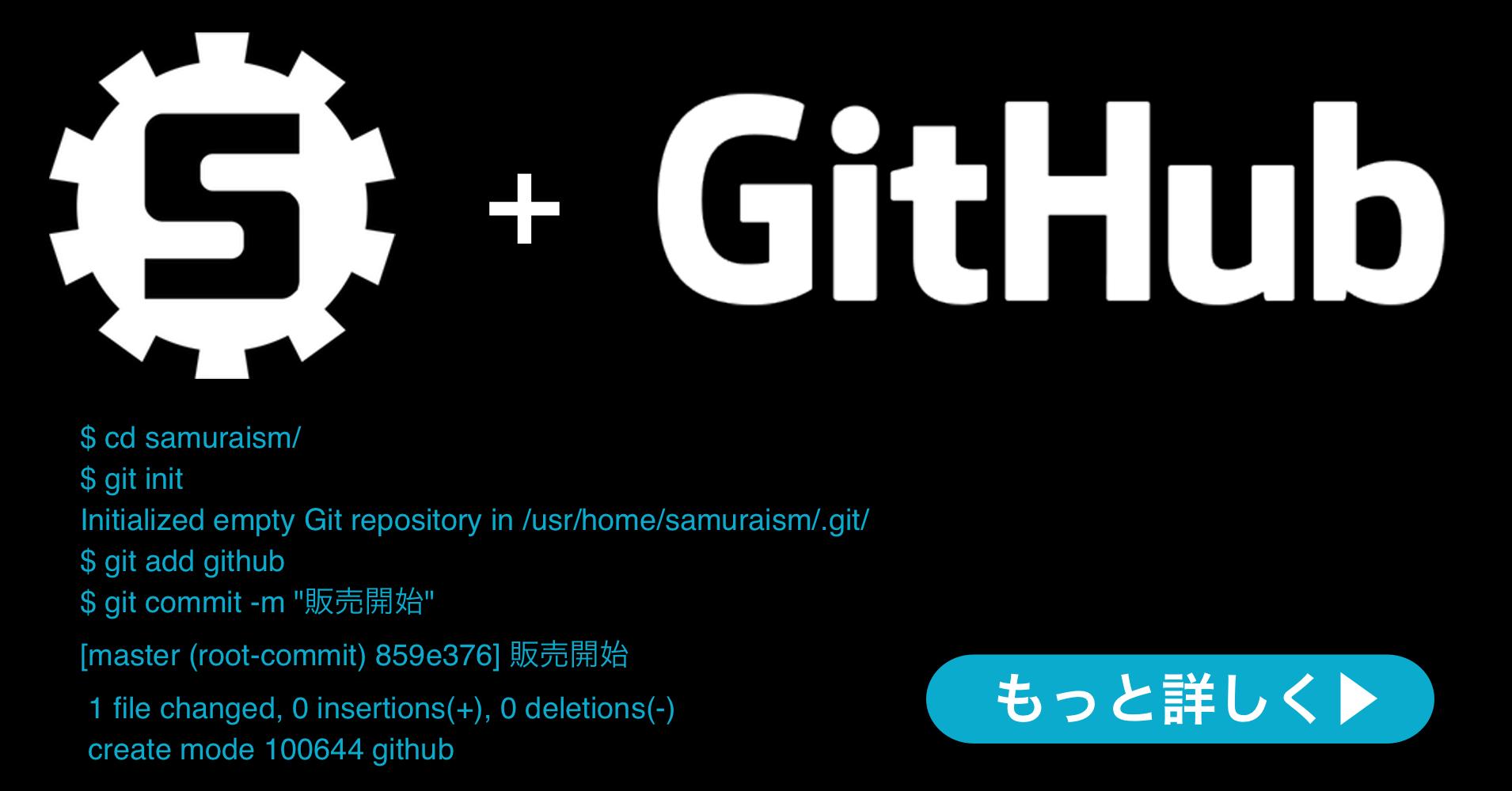 株式会社サムライズム  GitHub社の GitHub Enterprise  のランディングページを公開いたしました